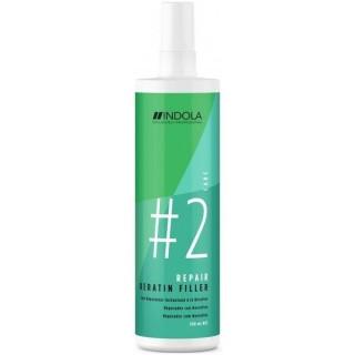 Акция !!! Спрей для волос Indola Repair Keratin Filler Мгновенное кератиновое восстановление 300 мл