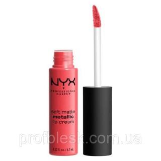 NYX Помада матовая Soft matte lip cream METALLIC №07 (Manila) 6,7 мл
