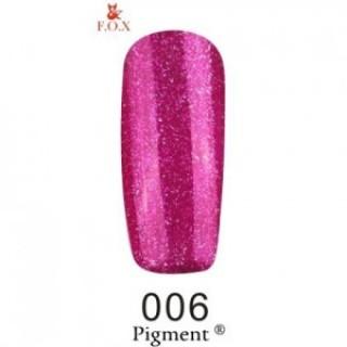 006 F.O.X gel-polish gold Pigment 6 мл