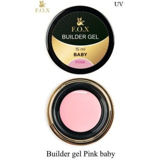 F.O.Х Builder gel Pink baby 15ml