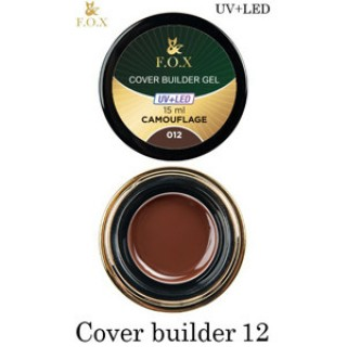 F.O.X Cover camouflage builder gel 012. 15ml
