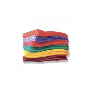 Салфетки 6*6 Doily 400 шт в тубе разноцветные