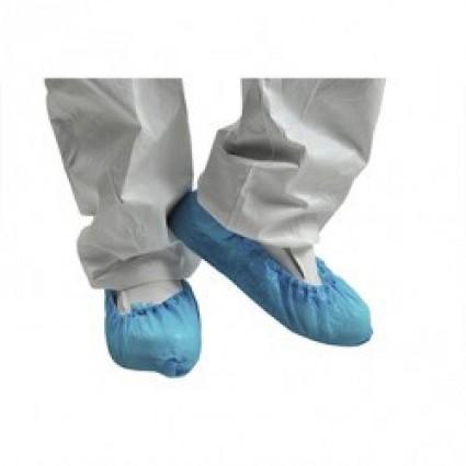 Бахіли одноразові поліетиленові, 2,5 гр блакитні Medicom ПАРА