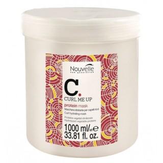 Маска протеиновая питающая для поврежденных волос Nouvelle Curl Me Up Protein 1000 мл