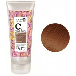 Маска Nouvelle Rev Up Color Refreshing для поддержания цвета волос Какао (Cacao) 200 мл.
