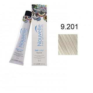 Краска для волос Nouvelle Hair Color 9.201 серебряная луна 100 мл
