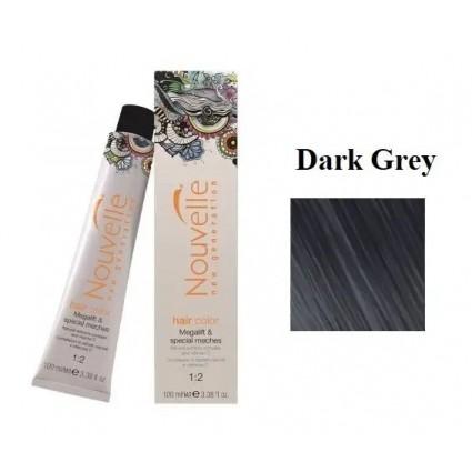 Краска для волос Nouvelle Hair Color Dark Greyтемно-пепельный 100 мл