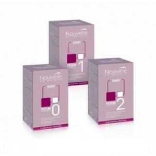 Набор для химической завивки окрашенных волос Nouvelle Volumizing modifier + Neutralizer Kit 0 120 мл + 120 мл