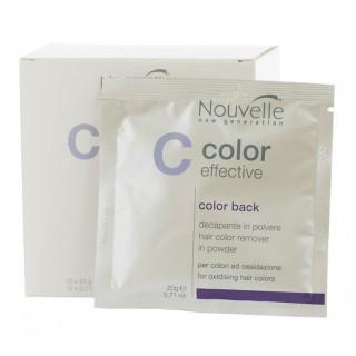Средство для удаления краски с волос Nouvelle Color Effective Color Back 20 г