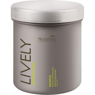 NOUVELLE Lively Bleaching Powder - Осветляющая пудра для волос без аммиака 500г