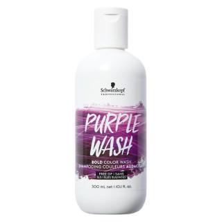 Пигментированный шампунь (фиолетовый)Schwarzkopf Professional Color Wash Purple 300ml