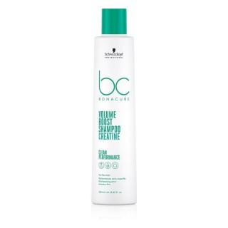 Мицеллярный шампунь для увеличения oбъeмa волос Schwarzkopf  Collagen Volume Boost Koллaгeнoвый 250 мл