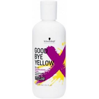 Шампунь против желтизны волос Schwarzkopf Professional Goodbye Yellow Shampoo Безсульфатный300 мл