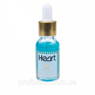 Гель кислотный для удаления кутикул HEART Cuticle Remover 15млl Синий