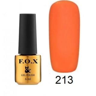 213 F.O.X gel-polish gold Pigment 6 мл