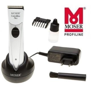 Машинка-триммер для окантовки MOSER ChroMini белая 1591-0067