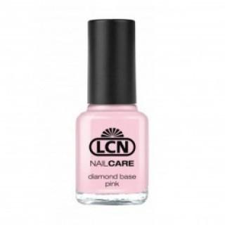 LCN Diamond Base Лак с бриллиантовой крошкой д/укрепления ногтей (розовый) 16 мл