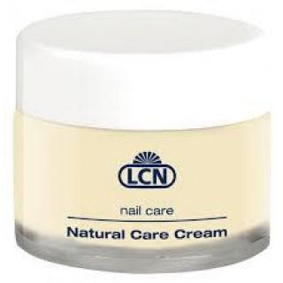 LCN Natural Care Cream - Спеціальний крем для полірування і запечатування нігтів 15 мл