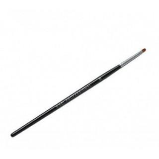 Кисть для геля B (размер 3E ворс нейлон, деревянная черная ручка)