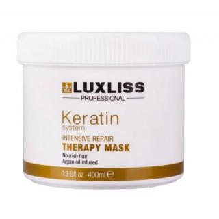Маска с кератином LuxLiss Keratin Protein Repairing Hair Mask 400 мл